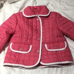 Urban Republic 2t quilted ruffled jacket worn once